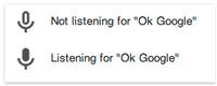 OK Google - wyszukiwanie głosem dla użytkowników Chrome