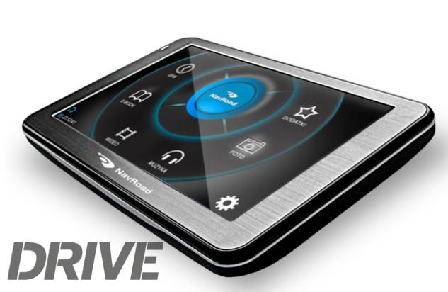 Nawigacja NavRoad Drive z pięciocalowym ekranem i bezpłatnymi mapami Europy