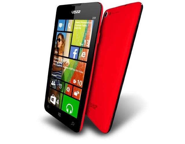 Yezz Billy z Windows Phone 8.1