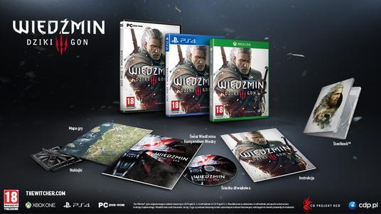 Wiedźmin 3: Dziki Gon. Nowy trailer, data premiery i ceny wersji na PC, Xbox One i PS4
