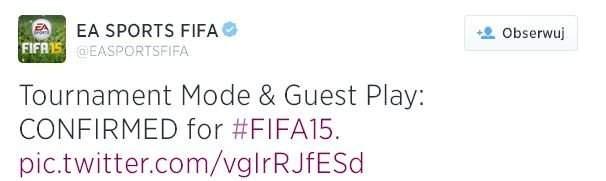 FIFA 15 z nowymi starymi trybami dla PlayStation 4 i Xbox One