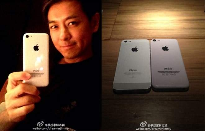 Jimmy Lin z iPhone'em 5C