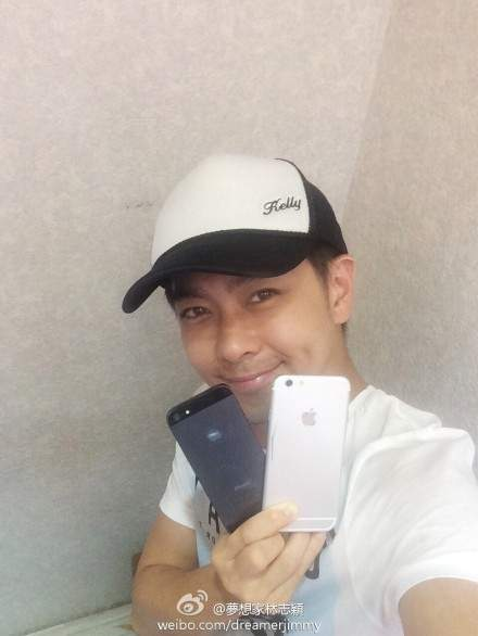 Jimmy Lin z iPhone'em 6