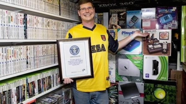 Największa kolekcja gier wideo sprzedana
