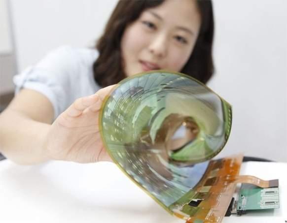 Elastyczny 18-calowy ekran OLED firmy LG
