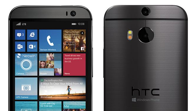 HTC zaprezentowało smartfon One M8 w wersji z systemem Windows Phone 8.1