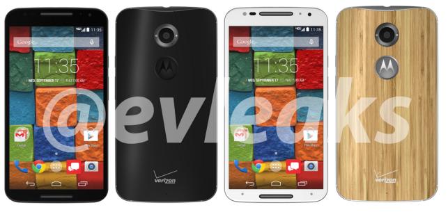 Grafiki prezentujące Moto X+1 to prezent pożegnalny od Evana Blassa