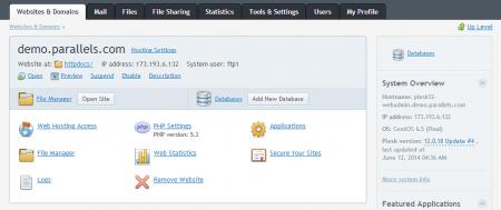 Parallels Plesk Panel to chętnie używany przez administratorów graficzny panel do zarządzania serwerami VPS i dedykowanymi.
