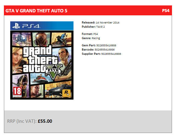 GTA V dla PS4/Xbox One i PC pojawi się na rynku 14 listopada?