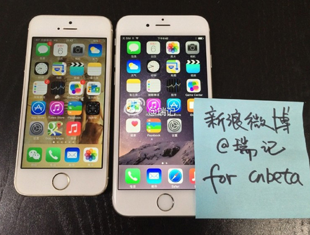 Apple iPhone 6 uchwycony na filmie i zdjęciach przed premierą