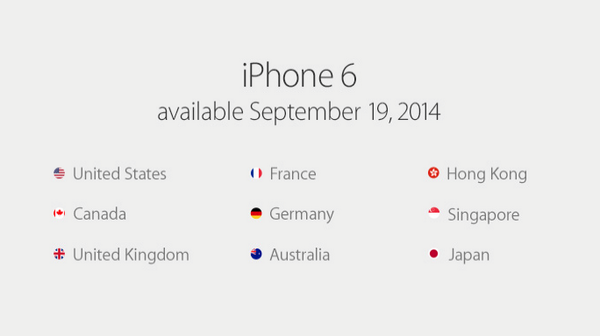 "iPhone 6, iPhone 6 Plus, mobilne płatności i ""One more thing..."". Apple pokazuje nowe iGadżety"