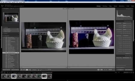 Porównanie dynamiki obrazu po jego optymalizacji w Adobe Lightroomie. Najwięcej się tu da zrobić, gdy mamy możliwość edycji RAW-ów. Dlatego warto używać tego formatu plików...