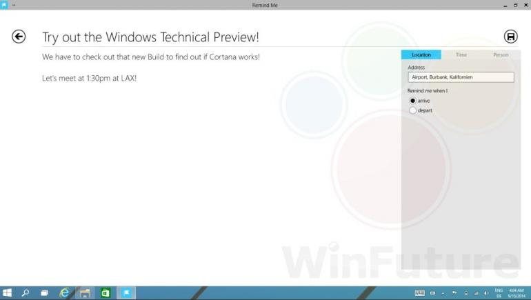 Cortana ma być jednąz najważniejszych nowości w Windows 9 Threshold