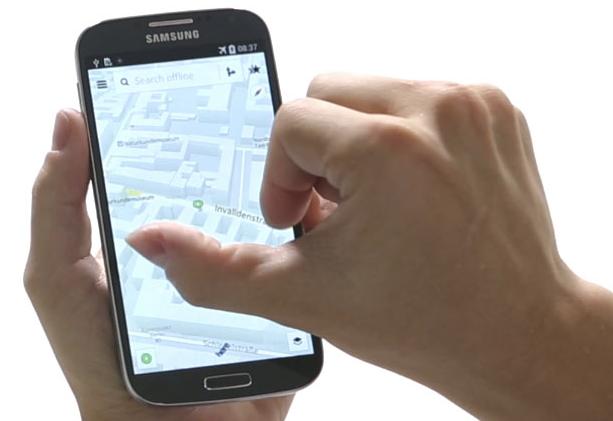 Mapy Nokia Here już oficjalnie dostępne w sklepie Samsung Galaxy Apps
