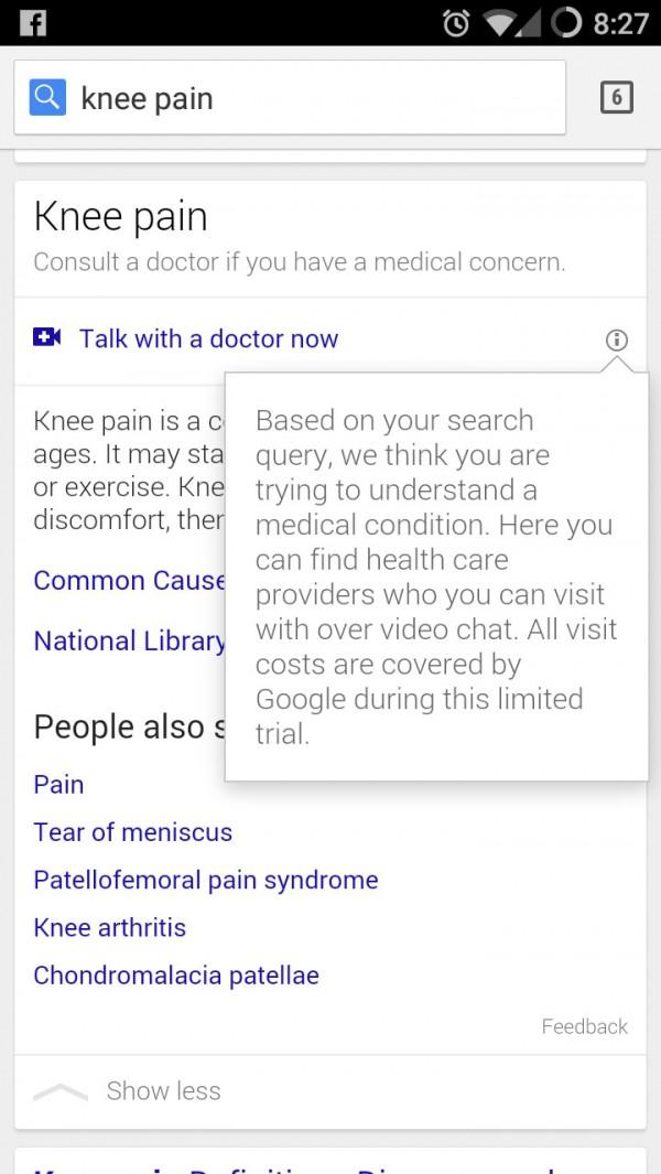Google testuje wideorozmowy z lekarzami pierwszego kontaktu