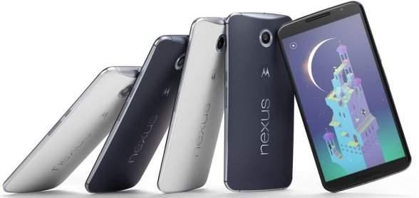 dysponujący aż 6-calowym ekranem phablet Nexus 6