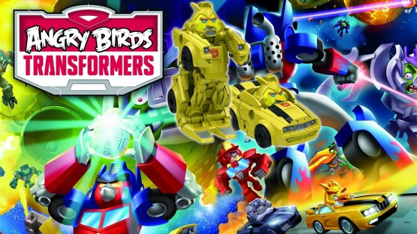 Angry Birds Tranformers w końcu trafiło do sklepów z aplikacjami