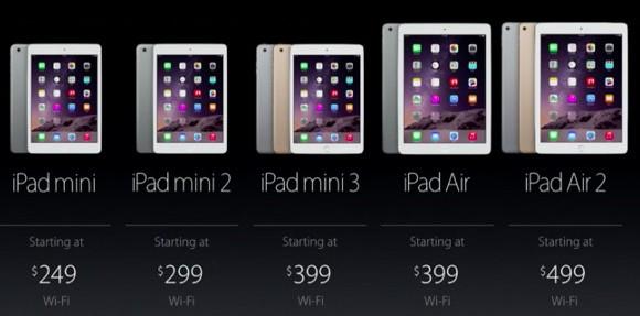 Tablety Apple iPad