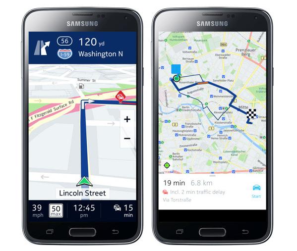 Mapy Here do Androida już nie tylko dla posiadaczy telefonów marki Samsung