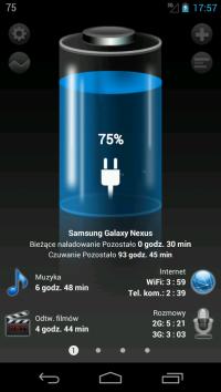 Wygodne narzędzie do zarządzania energią w Androidzie. Przed użyciem wymaga skalibrowania.