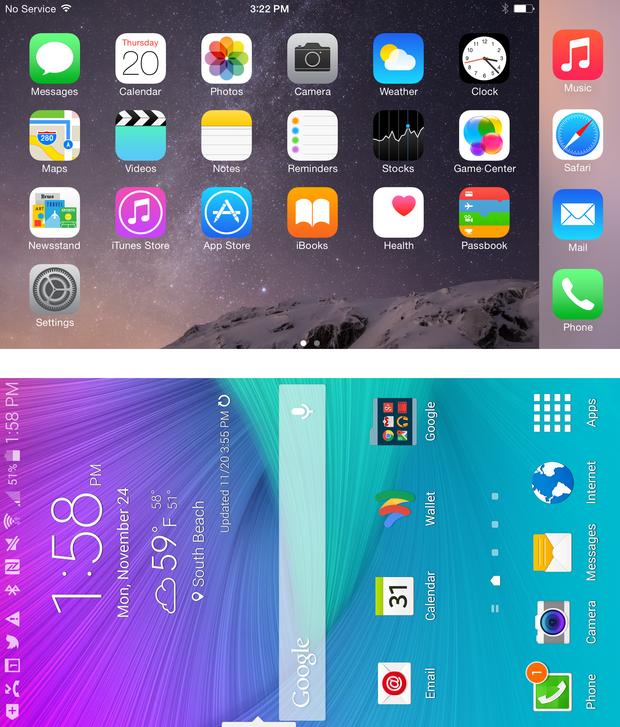 Pulpit w iPhonie 6 Plus można obrócić poziomo