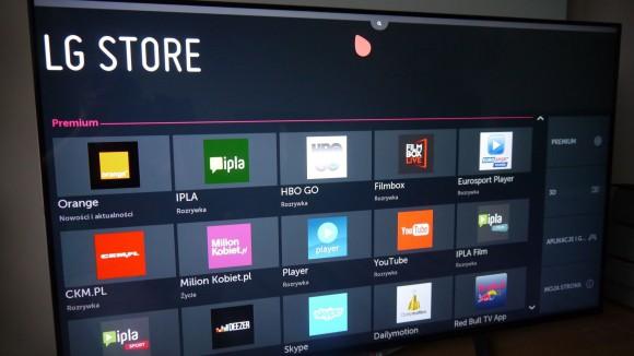 webOS - sklep LG Store