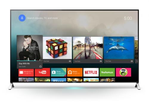 Nowy telewizor Sony z Android TV