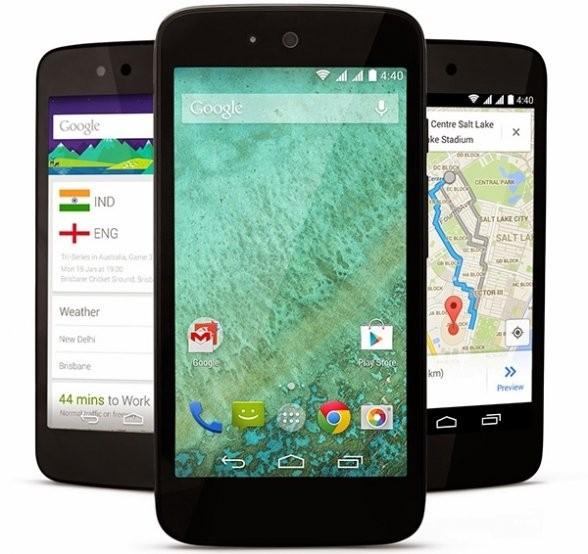 Smartfon zbudowany w ramach platformy Android One