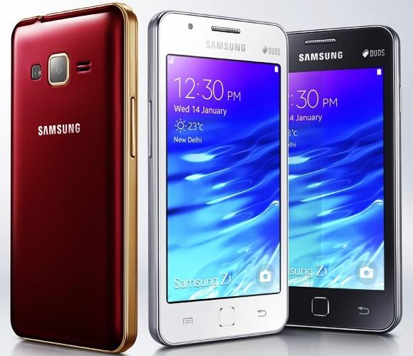 Samsung Z1 z systemem Tizen