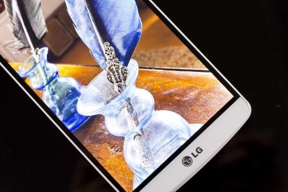 Jednąz największych zalet LG G3 jest ekran o fenomenalnej rozdzielczości QHD