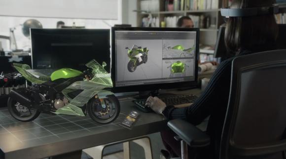 Microsoft HoloLens w akcji