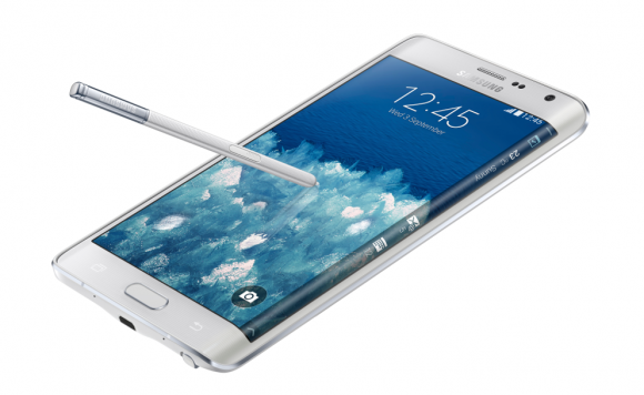Galaxy Note Edge od Samsunga ma jedną zakrzywioną krawędź