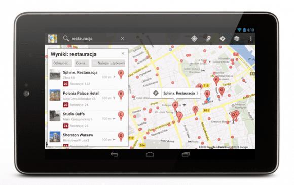 Aplikację do nawigacji GPS można wykorzystywać razem z innymi programami dla kierowców