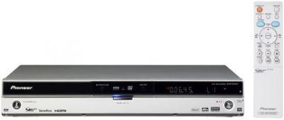 Nagrywarka DVD/HDD Pioneer DVR-645H wyposażona jest w 250-gigabajtowy dysk twardy
