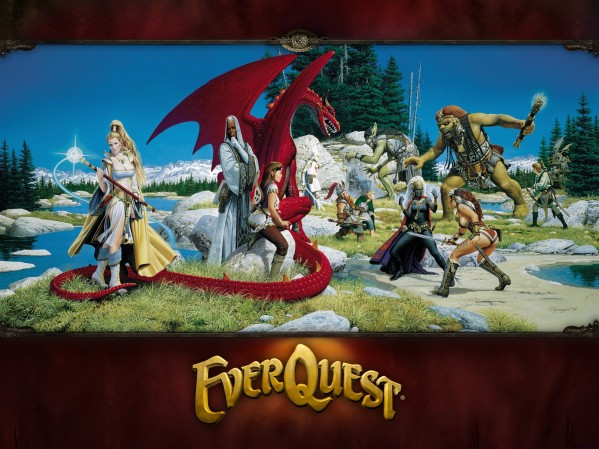 Oficjalna tapeta gry EverQuest