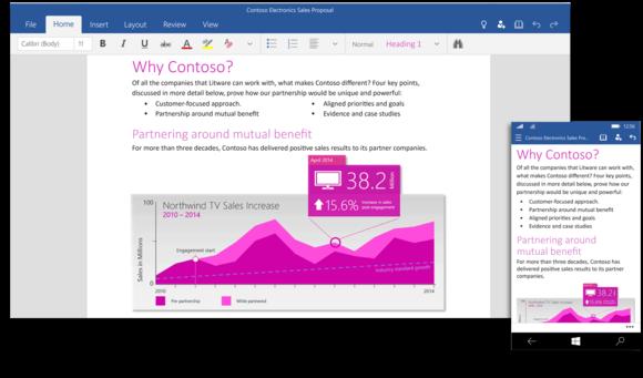 Windows 10 Technical Preview doczekał się pakietu Office 2016