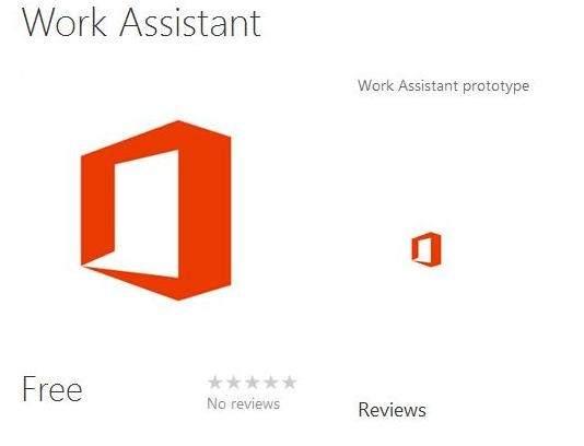 Strona Work Assistant na stronie Windows Phone