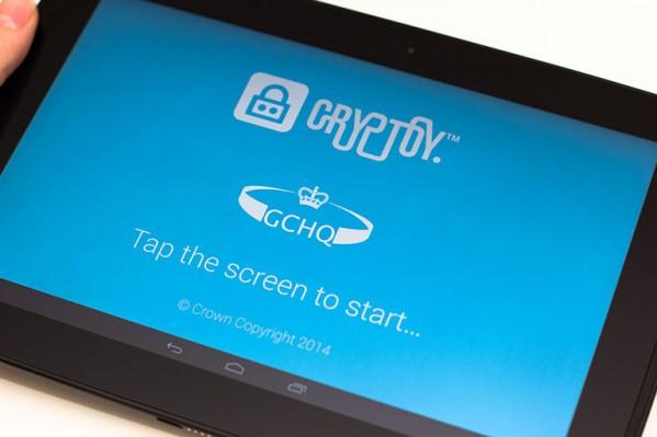 Cryptoy - aplikacja edukacyjna, wprowadzająca w arkana kryptografii (źródło: strona GCHQ)