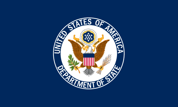 Godło Departamentu Stanu USA (źródło: strona oficjalna)