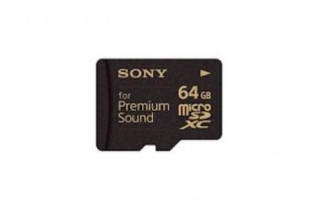 Sony microSD