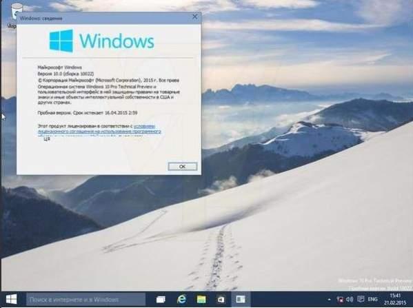 Windows 10 build 10022 - podobno