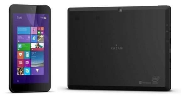 Kazam prezentuje smartfon z Windows Phone i tablet z Windows