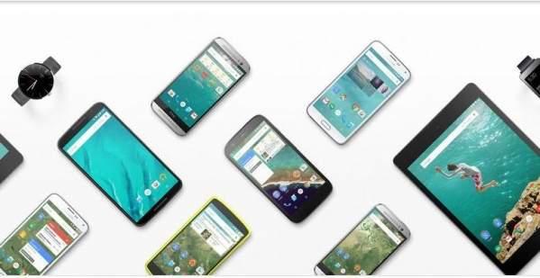 Urządzenia z Androidem (grafika: oficjalna strona Androida)