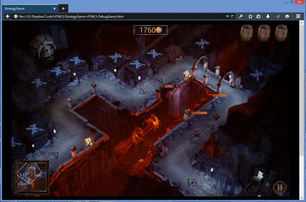 Demo silnika Unreal na 64-bitowym wydaniu Developer Edition (foto: Mozilla)