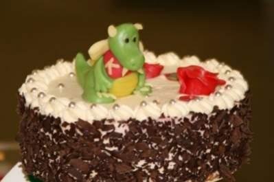 Urodzinowy tort KDE