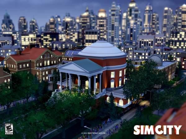 SimCity - flagowe dzieło Maxis (grafika z oficjlanej strony gry)