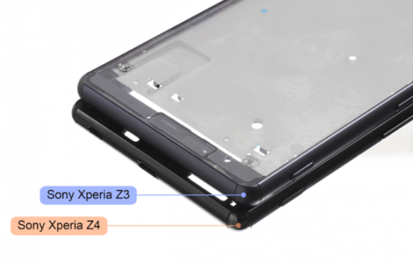 źródło: <a href=http://www.phonearena.com/news/Leaked-Sony-Xperia-Z4-chassis-suggests-an-even-thinner-device-without-waterproofing-and-microSD-slot_id66904>phonearena.com</a>