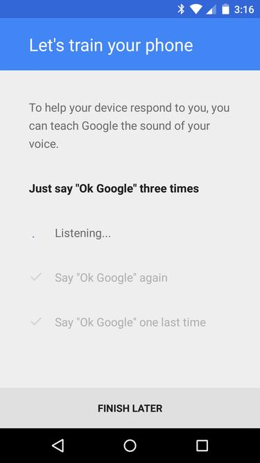 Możesz nauczyć Androida barwy swojego głosu