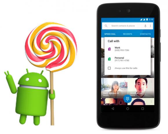Android 5.1 Lollipop zaczął być udostępniany w formie aktualizacji OTA