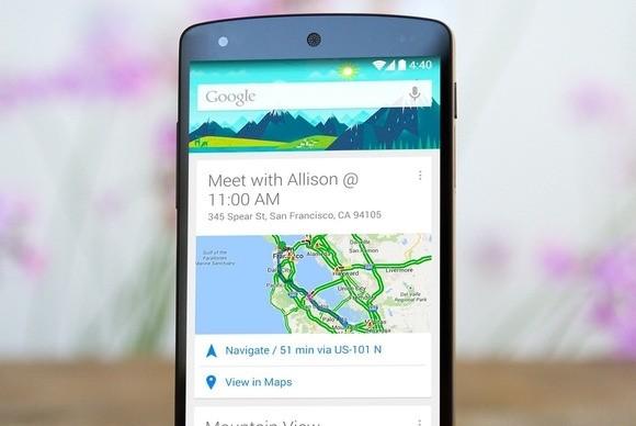 Google Now ze wsparciem zewnętrznych aplikacji